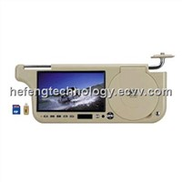 car sunvisor dvd player