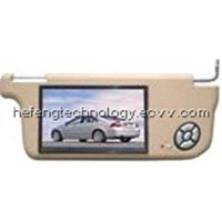 car sunvisor  dvd monitor