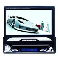 7-Inch Car DVD Player with Touch Screen, Tv, Radio, Bluetooth, Ipod, Sd, Built-In Gps And Detachable