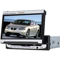 7-Inch In-Dash Car DVD Player with Tft Lcd Monitor, Tv, Fm Tuner & Amplifier