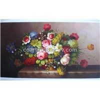 Classic Flower Oil Painting (msl0200-19)