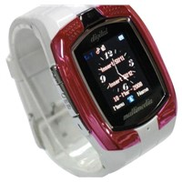 Dual SIM Cards Standby M860 Watch Phone With Camera MP3 MP4