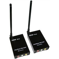 Long Range 2.4G Wireless AV Transmitter / AV Receiver