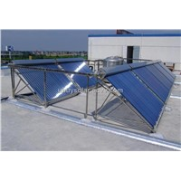 Pressurized System Solar Collector