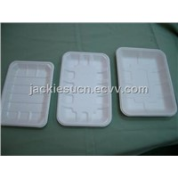 Decomposable Moulded Pulp Meat Tray