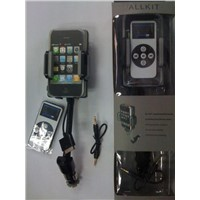 iPHone 3G 3GS Car kit, FM Transmitter