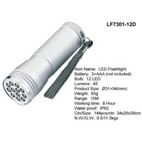 LED Aluminum Electric Torch(LF7301-12D)