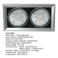 LED Hanging Indoor Lamp(IL02-24W)