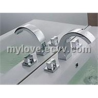 seperated washbasin mixer