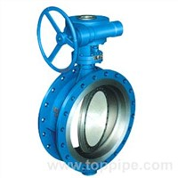 Three Eccentric Multi-Level Hard-Seal Butterfly Valve
