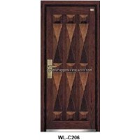 Steel Wood Security Armored Door