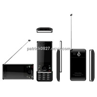 Dual SIM Quad Band TV Slider Mobile Phone - GF5