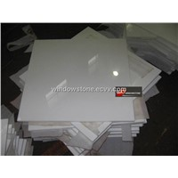 Crystal White Marble Panel