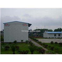 Prefabricated House-Two Storeies Slope Roof Modular House