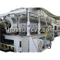 Pipe Extrusion Machinery-PVC Double Wall Corrugated Pipe Extrusion Line