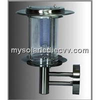 Solar Stainless Wall Light