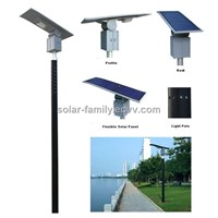 30W LED Flexible Solar Garden Light