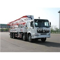 48m Truck-mounted Concrete Pump