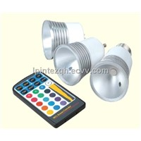 5W RGB LED BULB, SPOTLIGHT  E27,GU10, MR16