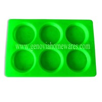 6 Cups Silicone Tart Pan