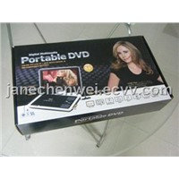 9inch Multimedial Portable DVD Player with Swivel TFT Screen, TV tuner, Game