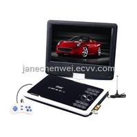 9 Inch Portable DVD Player with Swivel Screen, Tv Tuner, Game