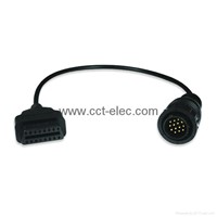 BENZ 14P TO OBD-16P  F cable