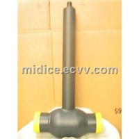 Buried welding ball valve