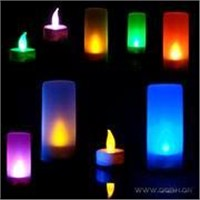 Color Electronic Candle