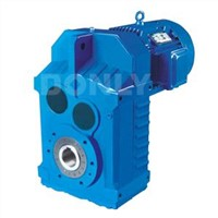 DLF Series Industrial Helical Parallel Shaft Mounted Gearmotors