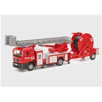 Die Cast Fire Engine Truck