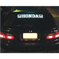 Flashing Car Sticker with Cold Light Source, Used in Auto-decorating Market