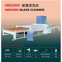 HBX2500 Glass Cleaner / Cleaning Machine