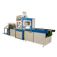 High Frequency Soft Crease Box Folding Machine