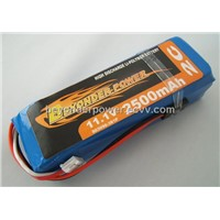 Li Polymer Battery 2500mah for Transmitter