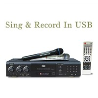 MIDI Karaoke DVD Player with Recorder+USB+Card Reader(DVP-10)