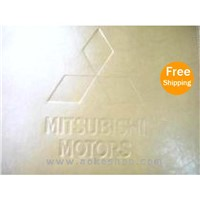 Mitsubishi Leather Tailored Floor Carpets 5pcs