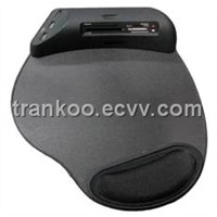 Mouse Pad with Card Reader