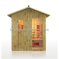 Outdoor Infrared Sauna Room for 2 Persons