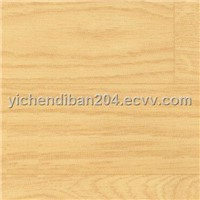PVC Floor with the Wood Grain Pattern