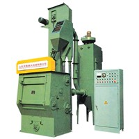 Q32 tumble belt type shot blasting machine