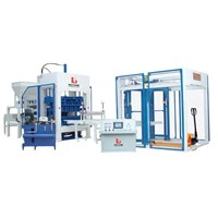 QT10-15 Concrete Brick Making Machine Block Machine