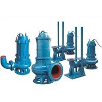 QW Non-Clogging Submersible Sewage Pump