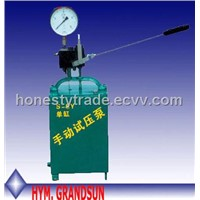 Ssy Manual Hydraulic Test Pressure Pump