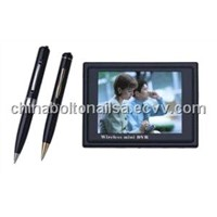 Spy camera pen with DVR