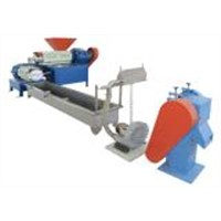 Waste Plastic Recycling & Reprocessing Granulator Set