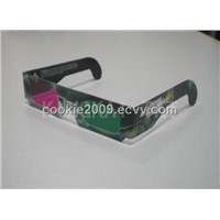 Green Magenta 3D Glasses
