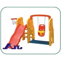 Outdoor Slide Swing(Combind Swing,Plastic Playground)