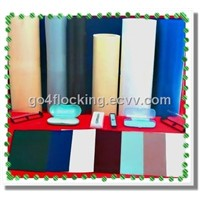 Flocked Rigid PVC Plastic Sheet in Roll Form