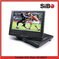 Portable DVD Player With Card Reader